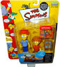 Simpsons Rod & Todd Flanders Action Figures WOS MOC Series 9 RARE Toy Playmates!