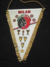 fanion wimpel pennant XL MILAN AC 1988  ITALIA ITALIE CALCIO MAGLIA