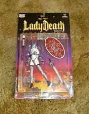 LADY DEATH Action Figure Series 2 1999 CHAOS Comics MOORE Collectibles NEW MIP