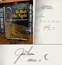 To Rule The Night HAND SIGNED by Jim Irwin! James! Moonwalker! Apollo 15! NASA!