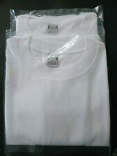 90's Vintage 2White Jcpenney Irr Size L Made In Usa 16oz