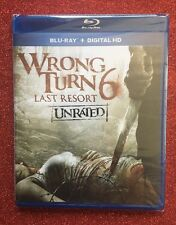 Wrong Turn 6: letzter Ausweg (Blu-ray/Digital HD, 2014; Unrated) NEU