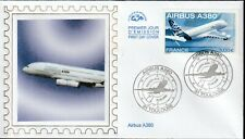 PA69 + FDC  ENVELOPPE 1er JOUR   CEF   AIRBUS A380