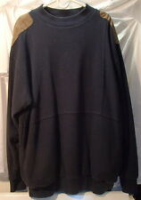 Gore Windstopper Navy Blue Long Sleeve Sweatshirt Mens Size XL Sweater