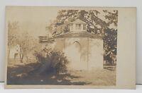 RPPC Moseleum Brick Gazebo Out Buildings Early Photo Postcard Reading Pa  B5
