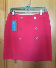 New w/ Tags Women's Lizzy Driver GOLF SKORT Size 6 Retail $136 in Salmon (Flame)