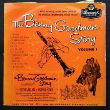 THE BENNY GOODMAN STORY [Vol. 1] Film Soundtrack OST LP Steve Allen Donna Reed
