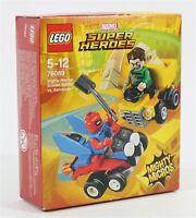 NEW LEGO 76089 SCARLET SPIDER VS SANDMAN MINIFIGURE SET MARVEL SPIDER-MAN
