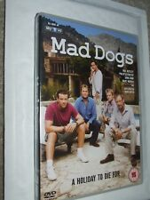 Mad Dogs - Series 1 - Complete DVD as seen on Sky 1 Max Beesley Philip Glenister