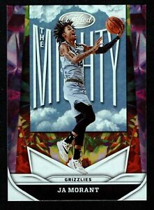 Ja Morant 2020-21 Panini Certified #20 The Mighty Insert Base Memphis Grizzles
