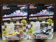 2x Racing Champion 1989 Don Garlits Eddie Hill NHRA Dragsters