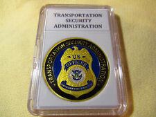 TRANSPORTATION SECURITY ADMINISTRATION (TSA)  Challenge Coin