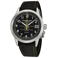 Raymond Weil Freelancer Black Dial Automatic Mens Watch 2754-SR-05200