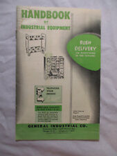 1950's Catalog HANDBOOK of General Industrial Equipment TOOLS Furniture etc...