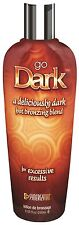 Go Dark 230ml Bottle by Synergy Tan hot tingle sunbed tanning lotion cream