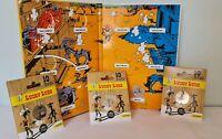 Pack 4 Medailles Touristique Monnaie Paris Colorisée LUCKY LUKE dont Collector !