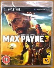 Max Payne 3 - PlayStation PS3 Games - Brand New & Sealed