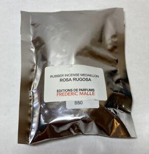 Frederic Malle Rosa Rugosa Rubber Incense Medaillon 5 Mini Round NEW