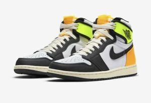 "Nike Air Jordan Retro 1 High OG ""Volt Gold"" Size 10 Order Confirmed NIB"