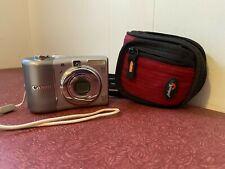 Canon Power Shot Camera A1100 IS - 12.1 Pixels 4X Optical Zoom w case & SD Card