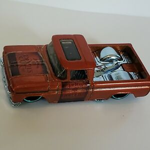 Hot Wheels  JIM BEAM DEVILS CUT Whiskey 1962 CHEVY pickup truck  custom