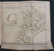 DU FAY - LA MANIERE DE FORTIFIER SELON LA METHODE DE VAUBAN - 1681 EO RARISSIME