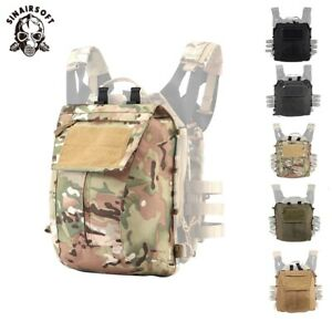 Tactical Zip-on Panel Pack Backpack Plate Carrier Bag For AVS JPC 2.0 CPC Vests