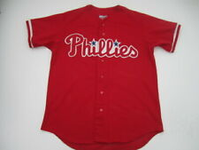 Mens Large Philadelphia Phillies Majestic Diamond Collection sewn jersey vintage