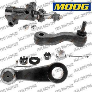 MOOG Front Steering Arm Kit Idler Pitman Idler Bracket Pivot For Chevrolet Truck