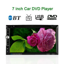 7 Inch 2 Din 1008P HD Car Stereo BT Entertainment Multimedia DVD Player V6X4