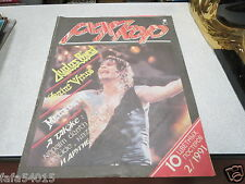MAGAZINE MUSIQUE POKKOP JUDAS PRIEST SAINT VIRUS MEGADETH 2/1991 ROCKCOR ROCK *