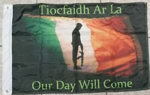 Irish Republican Flag .Our day will come. 3ft x 2ft.