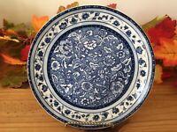 "222 Fifth Blue Dynasty Fine China Salad Dessert Plate 8 1/2"", Blue, Beautiful"