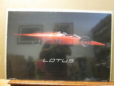 "Vintage 1986 Lotus poster ""raced in 1968"" Dick Barbour Racing  8377"