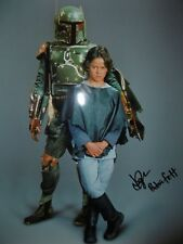 STAR WARS DANIEL LOGAN BOBA FETT SIGNED PHOTO CERTIFICATE OF AUTHENTICITY