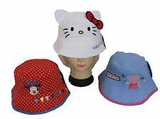 Unbranded Cotton Blend Hats for Girls