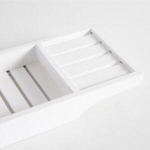 New MUSE Sanctuary White Bath Caddy