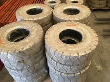 forklift tyres, white non marking, lots of sizes available for toyota nissan