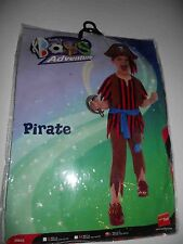 PIRATE BOY FANCY DRESS COSTUME CHILDRENS SMIFFYS LARGE AGED 10-12 YEARS 0171