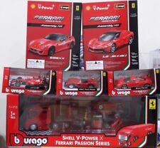 Burago Shell Ferrari Passion Series Complete Set (Limited Edition)