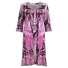 Vintage Averardo Bessi silk dress Pucci CREATEUR Amazing Print US 8 I 42 D 36
