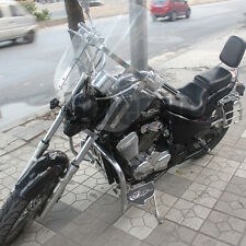 Motorcycle Wind screen deflector clear windshield windscreen For Harley cruising