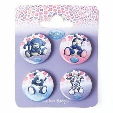Me To You Blue Nose Friends Collectors Button Badges - Binky, Twiggy, Coco, Dot