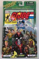 Hasbro 2004 ARAH GI JOE #24 Classic Comic Book 3-Pack Duke Destro Roadblock MOC