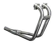 Delkevic 2-1 Downpipe Stainless Header - Suzuki GS500E/F - 1989-2009 Manifold