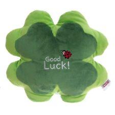 Nici Kissen Good Luck in grün Stofftier Plüsch Viel Glück 36cm