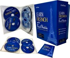 Learn French with Paul Noble Collins 12 CDs, Booklet, DVD Collection Box Set