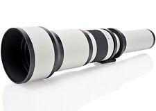 Opteka 650-2600mm Lens for Panasonic GH5 GH4 GX85 GF8 GF7 GX850 GX8 G85 G9 G7 G6