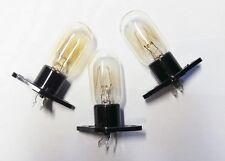 3 LAMPES de FOUR MICRO ONDE 25W KEI