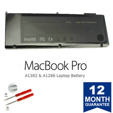 A1382 Battery for Apple MacBook Pro 15'' A1286 (Early 2011 Mid 2012) 5200 mAh